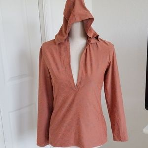 Lucy Hooded Athletic Top